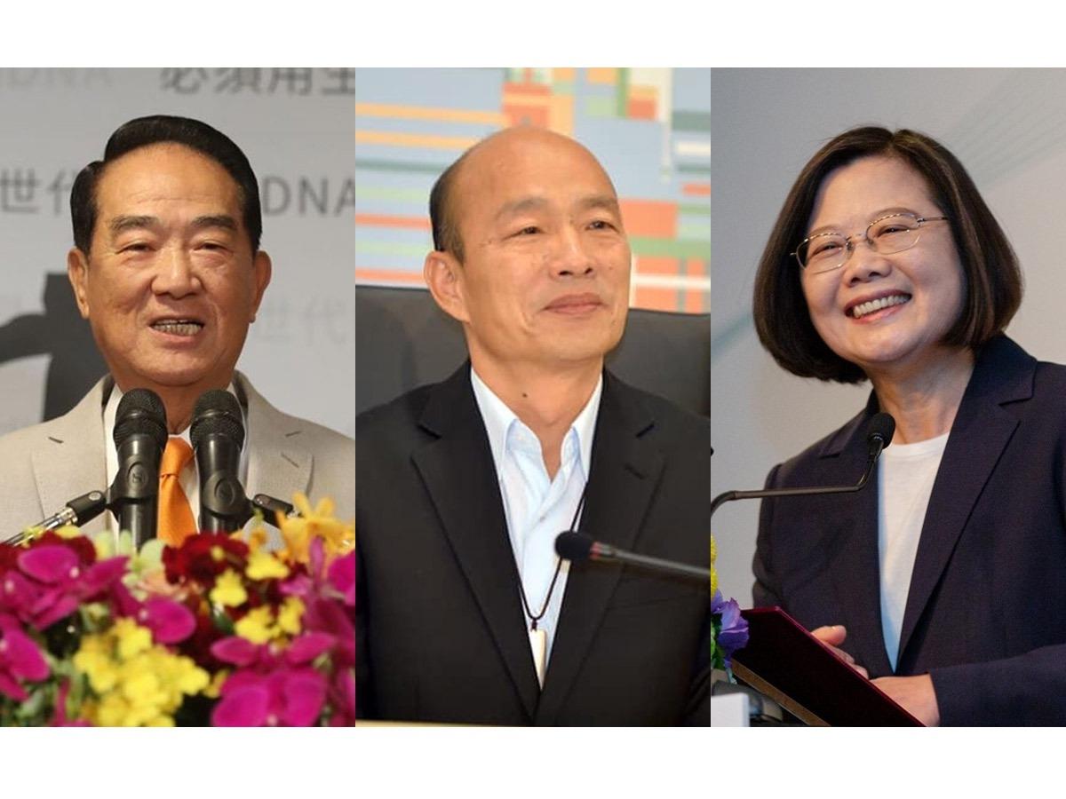 總統候選人辯論會登場! 蔡、韓、宋火力全開 辯論焦點一次看