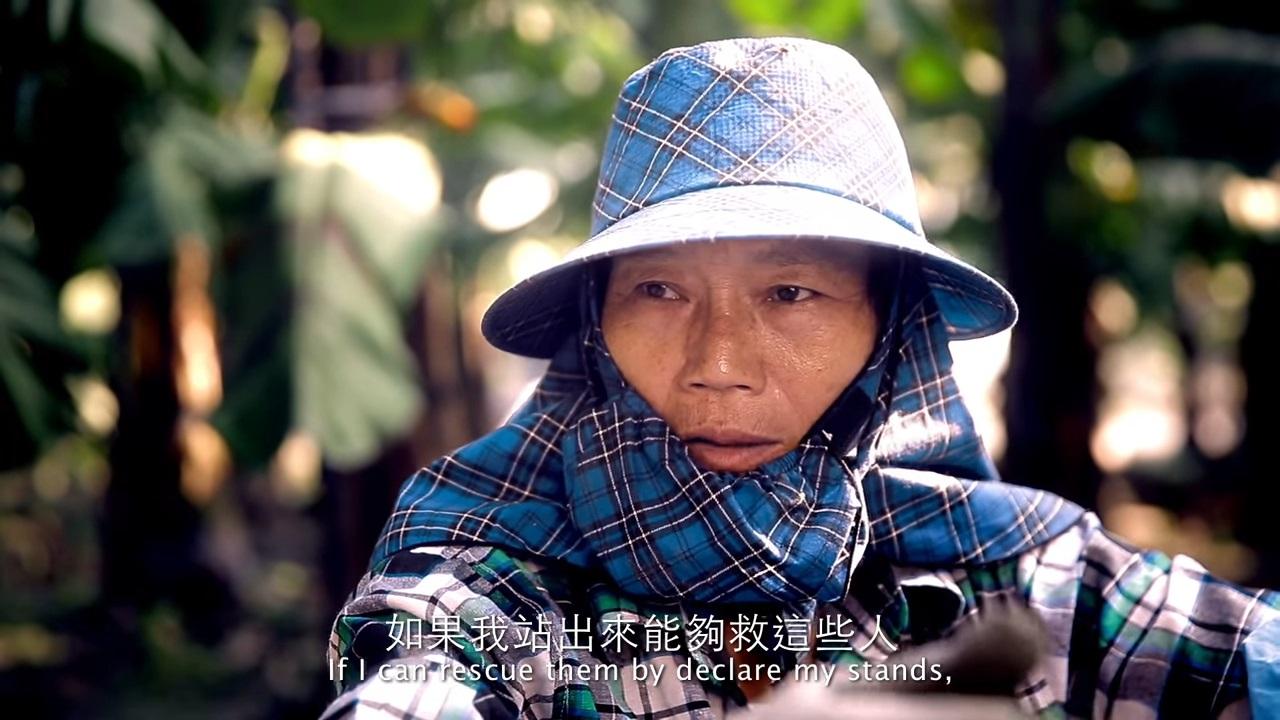 玫瑰少年葉永鋕的母親在鏡頭前訴說她對葉永鋕之死的心聲