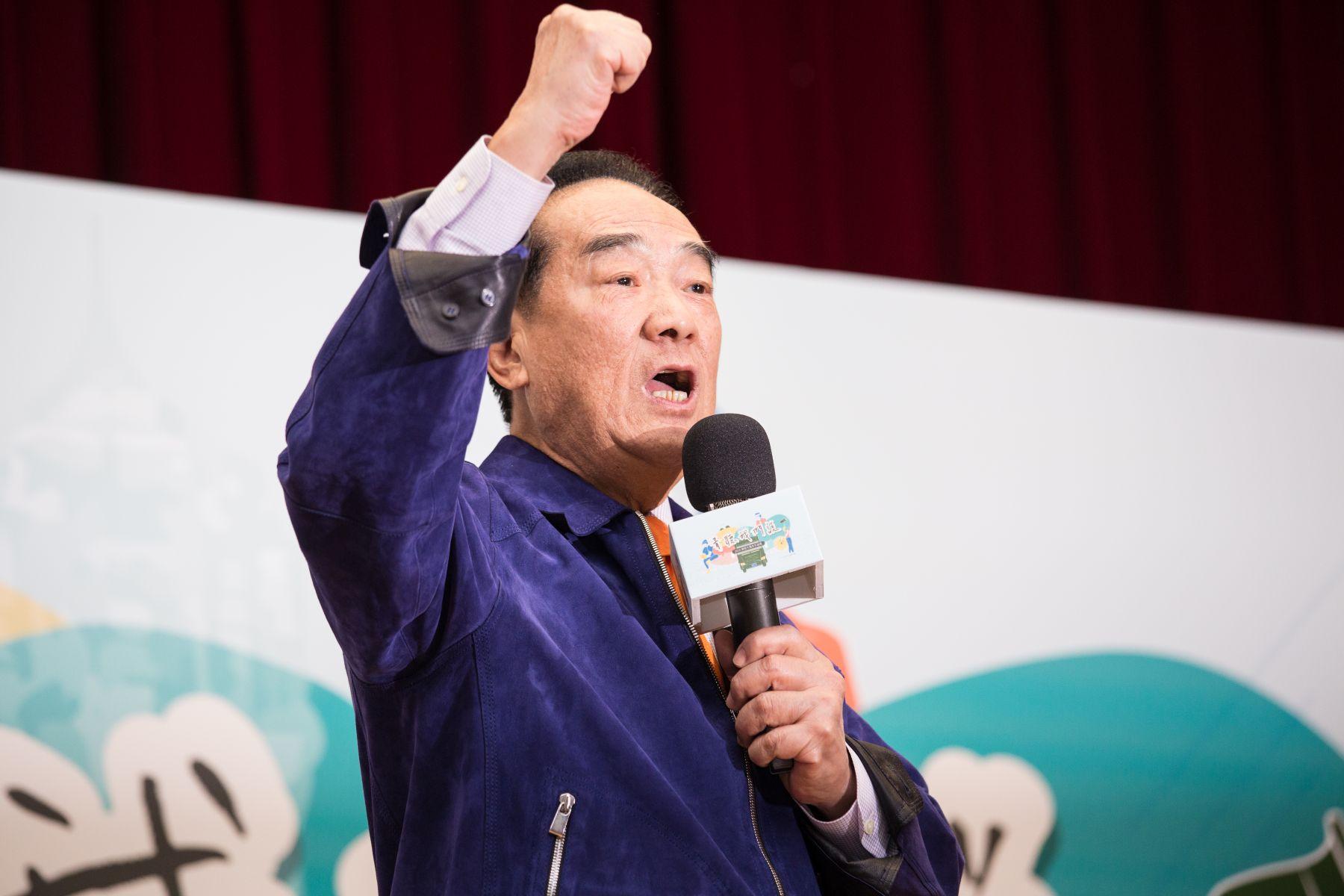 與青年對談 宋楚瑜:台灣不需要強人,需要堅強領導人