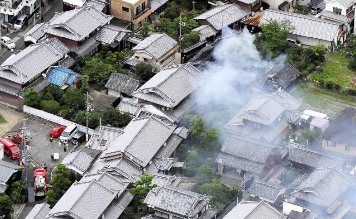 6.1強震襲大阪 已釀3死、17萬戶停電