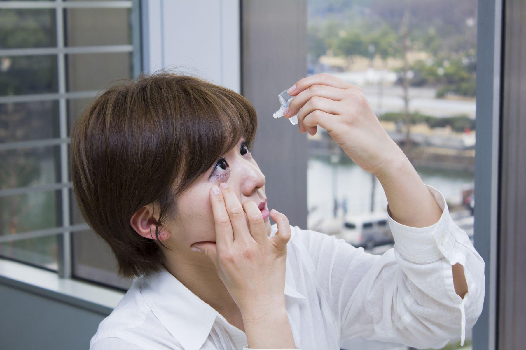 涼感眼藥水消除疲勞?過度使用恐釀眼疾