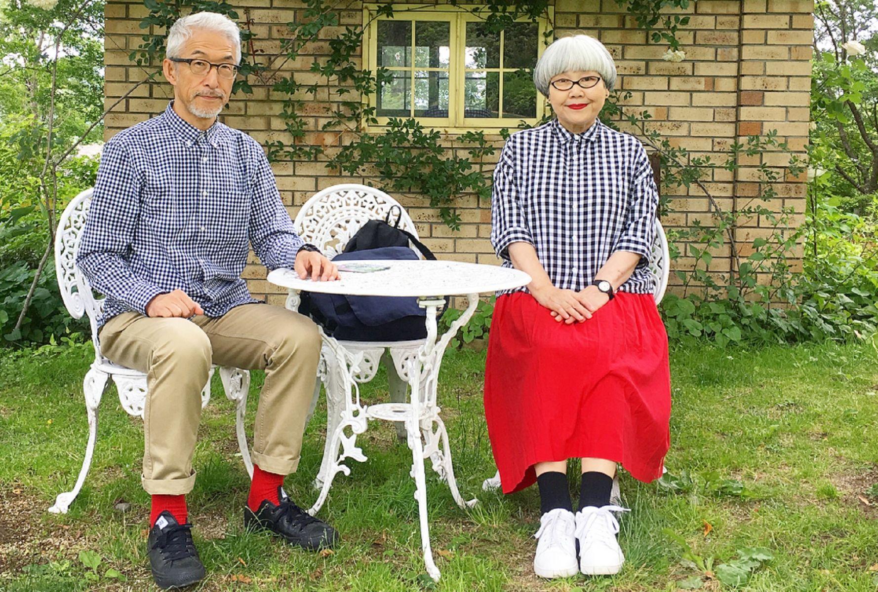 60歲後,在Instagram上爆紅!日本夫妻「bonpon」的造型巧思