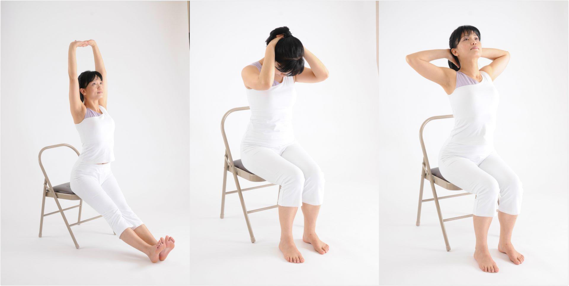 上班族必看!辦公室3分鐘瑜伽操 解胸悶、改善肩頸僵硬