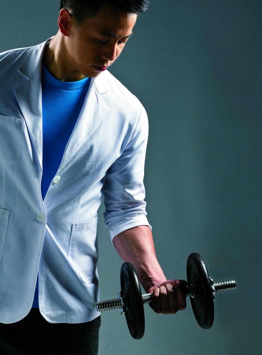 健身部落客史考特醫師:運動增肌減脂就能瘦!