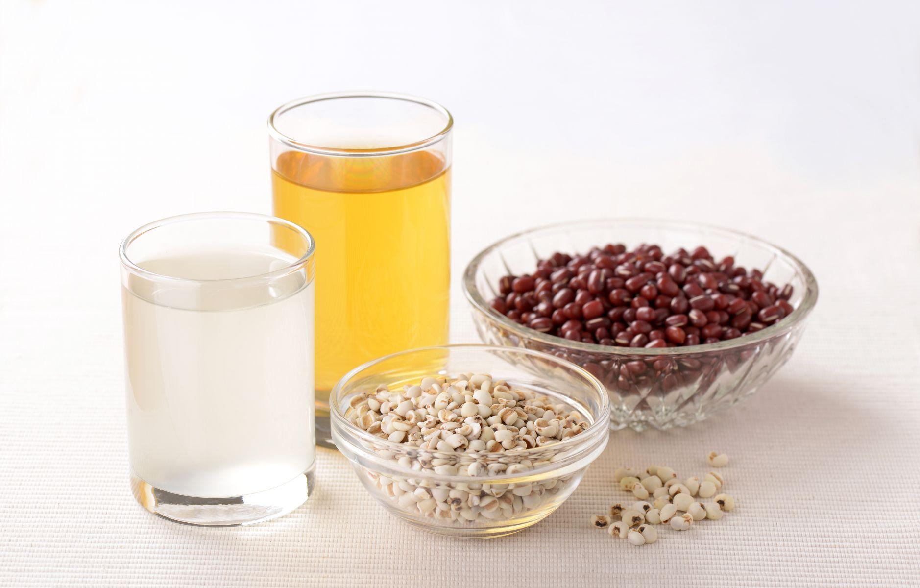 多喝紅豆水、薏仁水、 玉米鬚茶,就能排體濕?