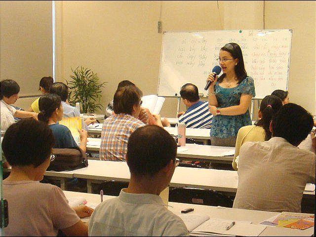 陳凰鳳於2011年的越南語教學