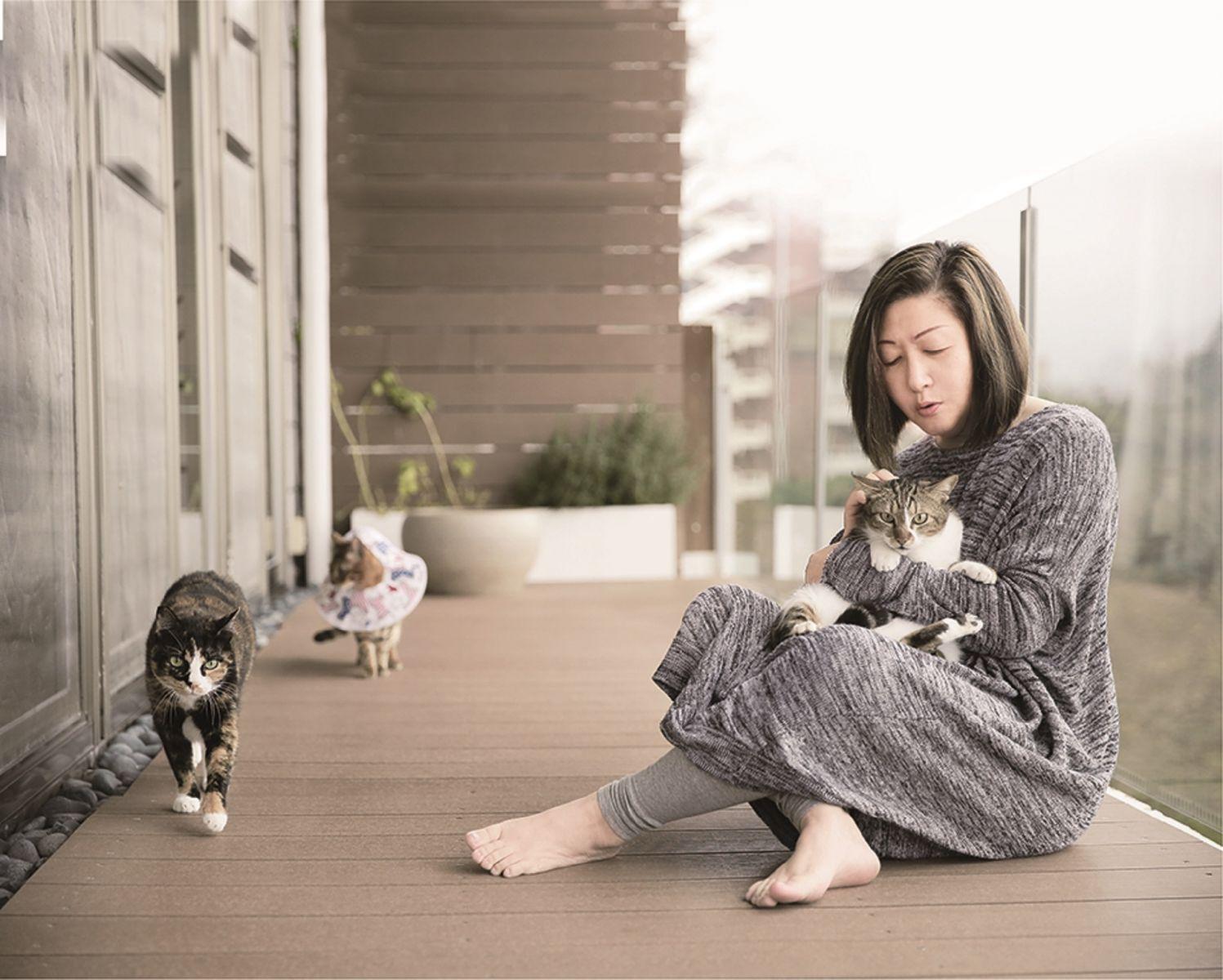 養隻貓、付出愛,擇食老師邱錦伶從毛小孩身上學到的事