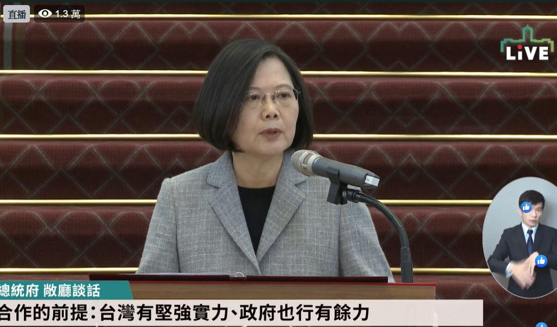 「台灣將捐1000萬片口罩給疫情嚴重的國家!」 蔡英文:防疫要打「國際盃」
