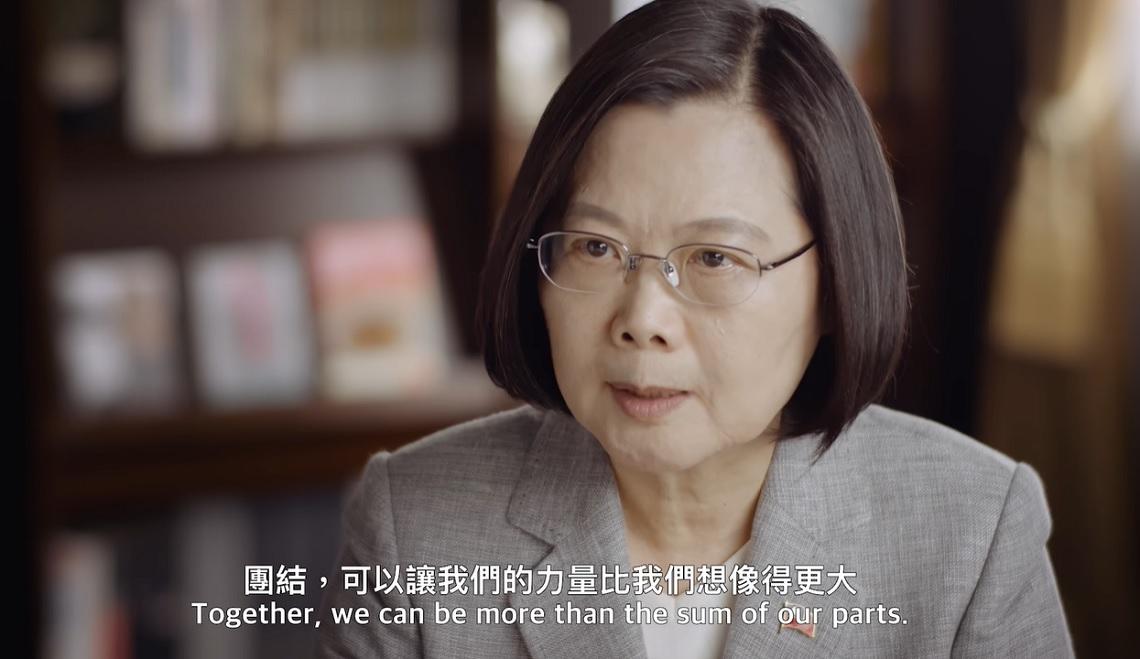 蔡英文推特破百萬追蹤! 全英語3分鐘告訴世界「台灣防疫故事」