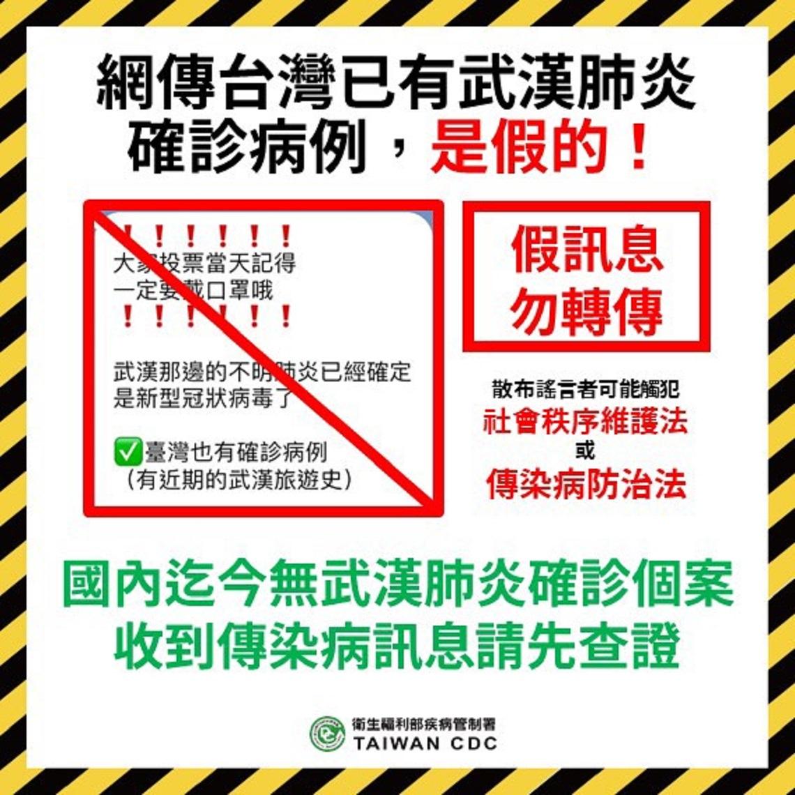 台灣尚無武漢肺炎確診病例 新竹市民仍戴口罩投票