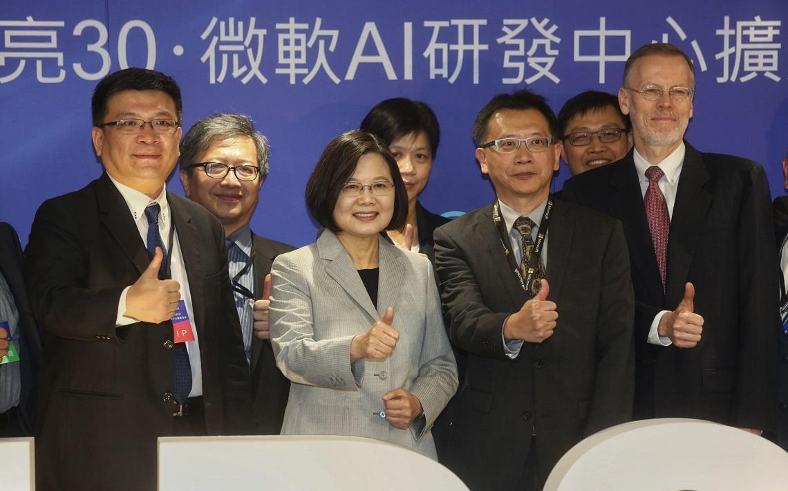 投資AI最貴的是「人才和數據」!微軟:我們拉高了台灣科技業平均薪資