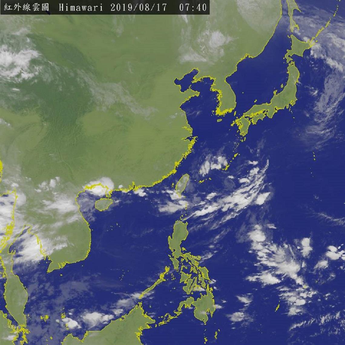 連日大雨將持續到下週二 專家:下週五恐有颱風生成