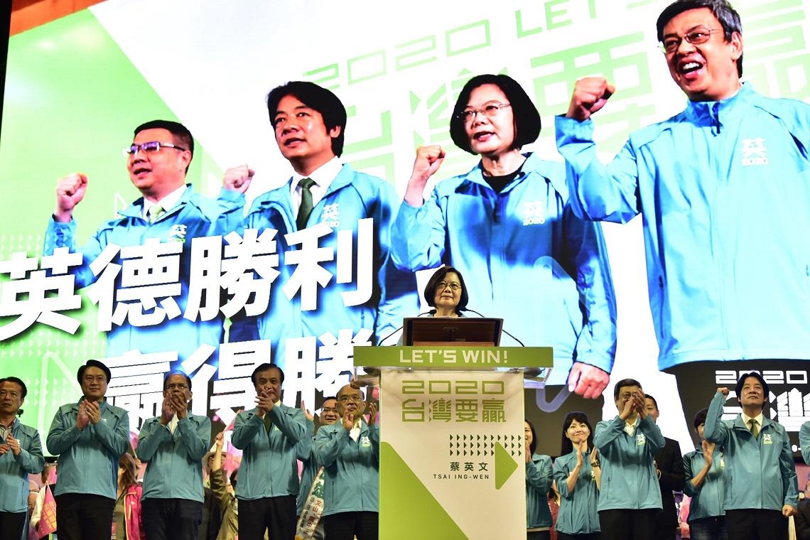 「台商回流大爆發是事實!」 蔡英文重話批韓國瑜:台灣不要只會說大話的政客