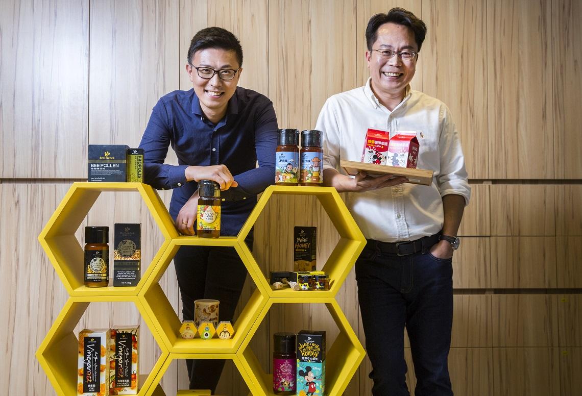 館長代言狂銷2.6萬瓶!聯手迪士尼,台灣蜂蜜王半年創1.2億產值