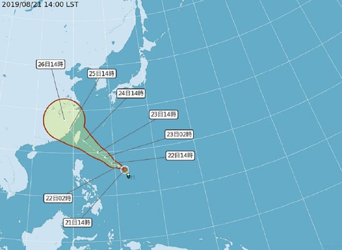 「白鹿」颱風生成!週六影響最劇 日本預估:直撲台灣