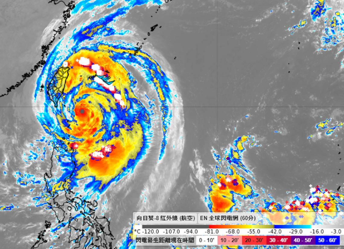 中颱米塔「增強變胖」 專家彭啟明:狂風暴雨越晚越有感