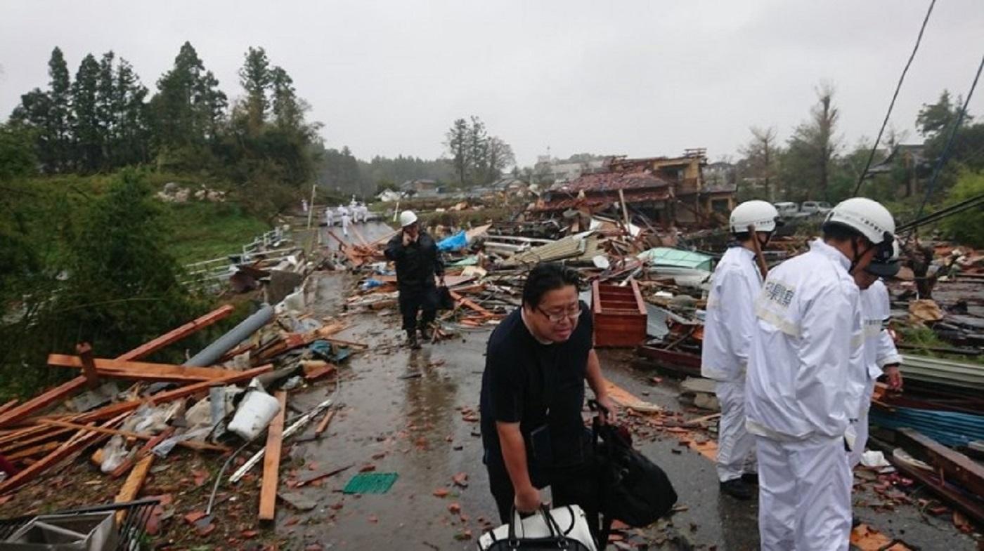 連假赴日旅遊泡湯!61年來最強颱襲日 迪士尼、環球影城關園躲「哈吉貝」
