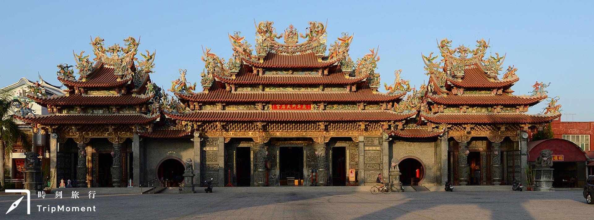 台南鹿耳門天后宮》誰是最早媽祖廟?歷史古廟的百年傳說