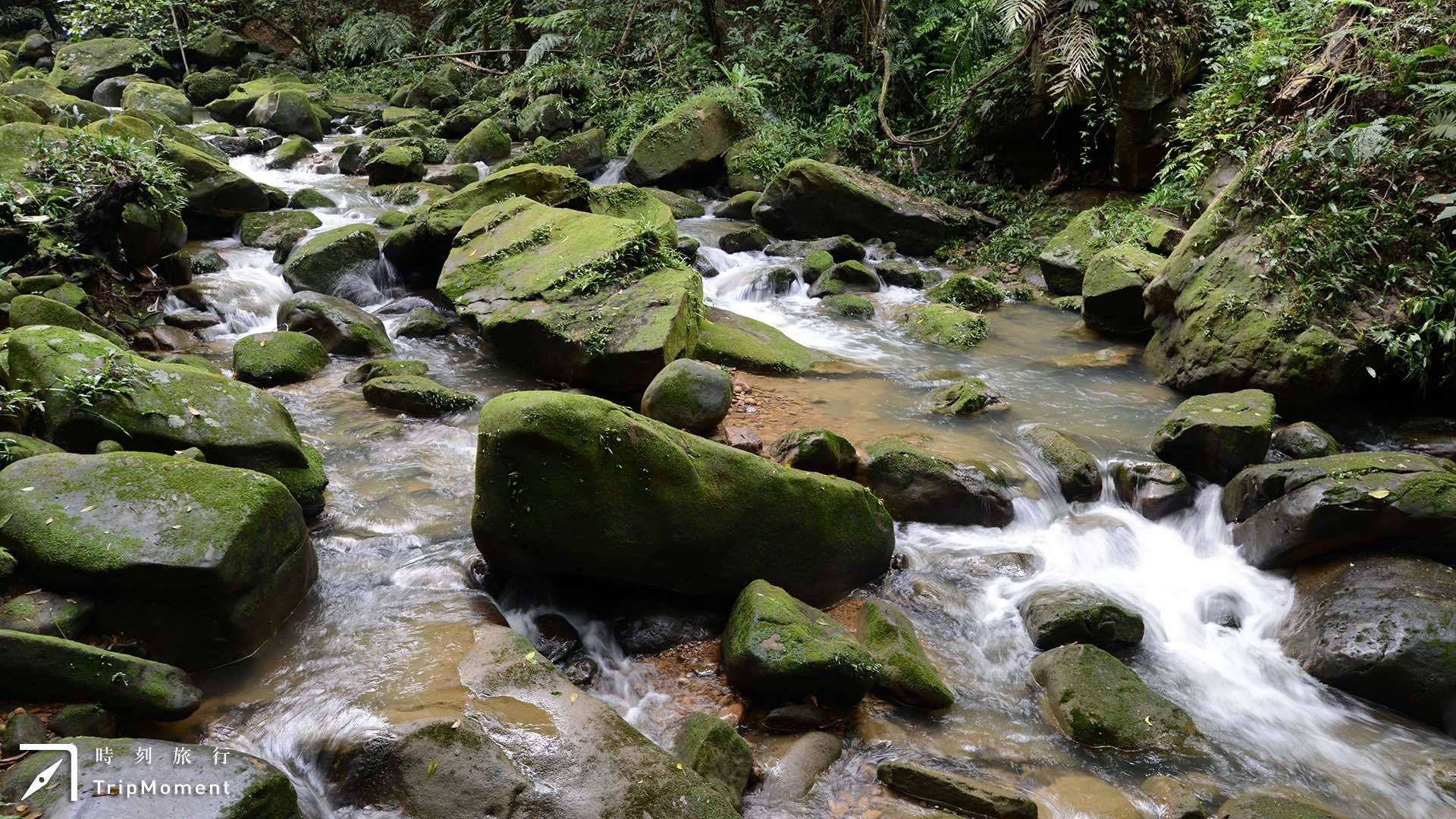 內湖圓覺瀑布步道》遠眺台北盆地,盡享山水交織美景