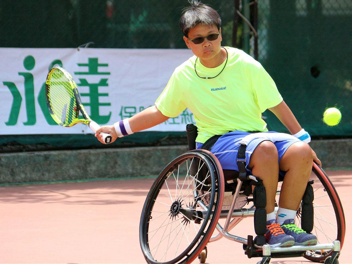 擊出國手夢 輪椅也綁不住的網球魂
