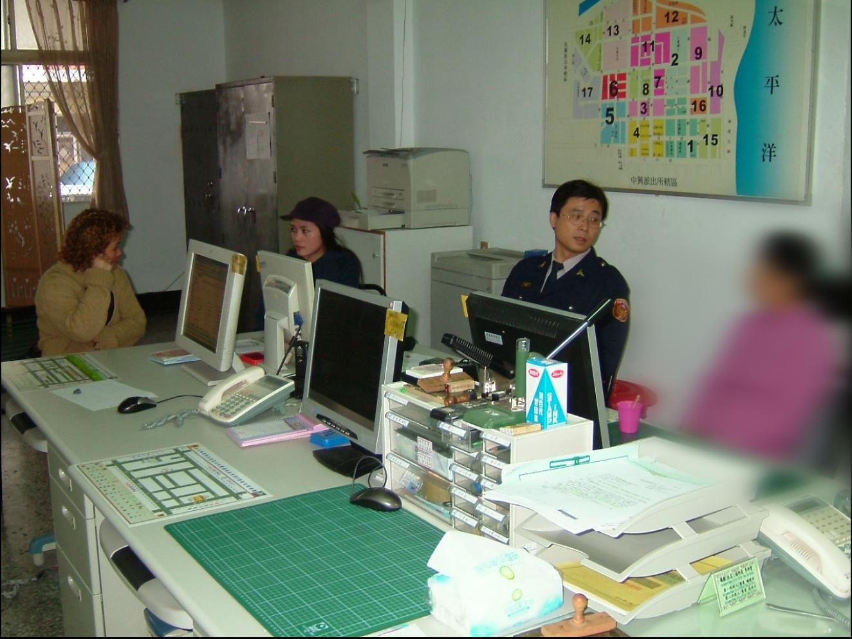曾是外事警察的陳允萍 因為工作認識了許多外籍朋友