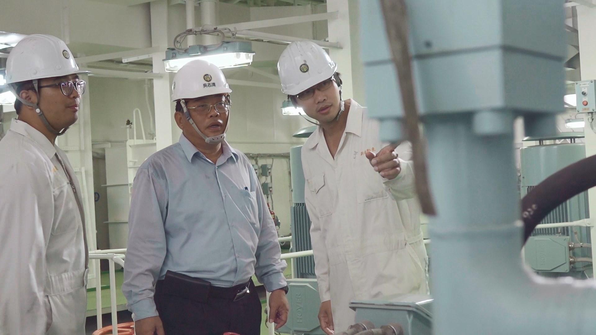 台船積極培訓海事工程相關專業人才
