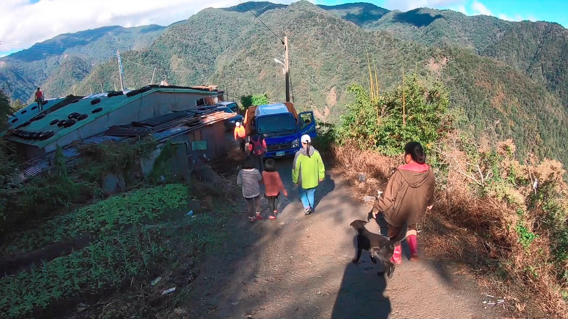 林瑋哲表示,新竹尖石鄉的案子是他目前遇過情況較艱難的,光是要進入深山就得花上4小時的車程。