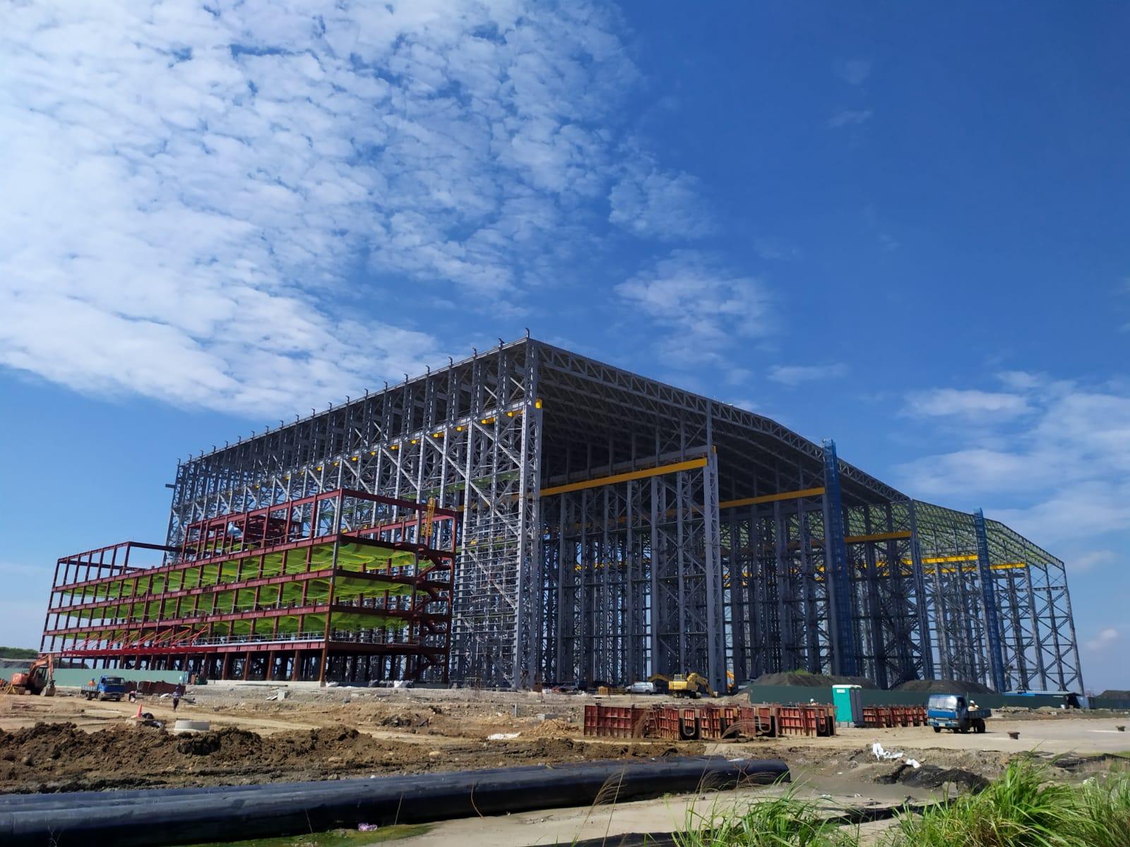 世紀鋼將台北港打造為離岸風電水下基礎生產基地。