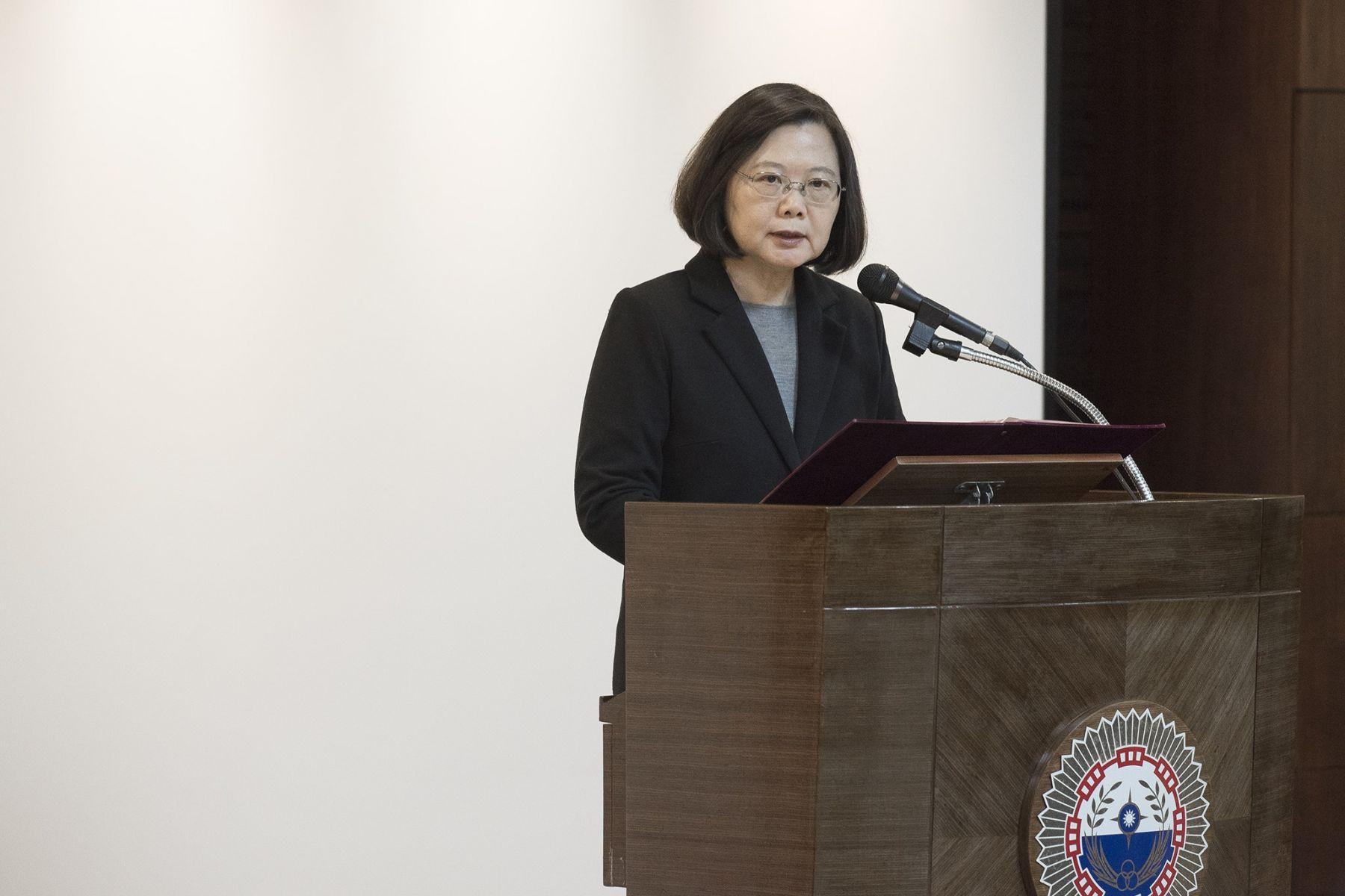 前法官涉性騷僅罰款 蔡英文:台灣離性平還有一段路
