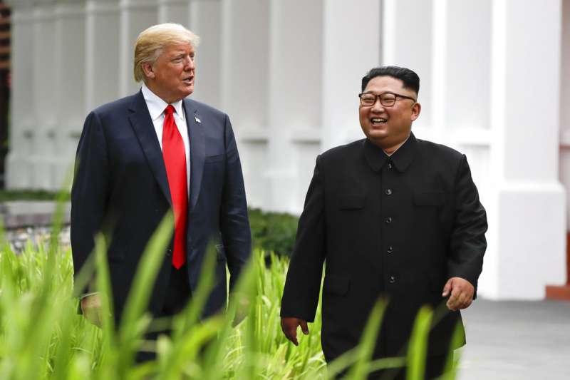 「2個男人、2位領導人,1個命運」川金會上惺惺相惜的「繼承者們」:川普與金正恩
