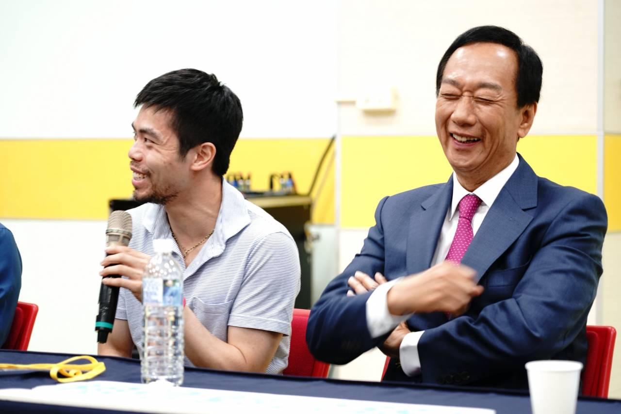 40歲打奧運有多難?郭台銘讚莊智淵:「他帶給大家不只獎牌,而是努力不懈,拼搏到底精神!」