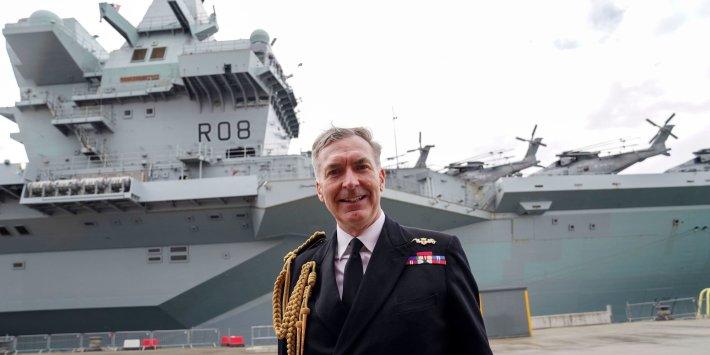 英國海軍大當家:維持台灣海峽自由航行很重要! 為何英航艦在東亞「走灶咖、串門子」? 一切攏是為著「它」