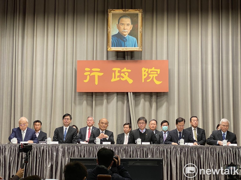 行政院拍板加碼防疫紓困 蘇揆:1兆500億預算救台灣
