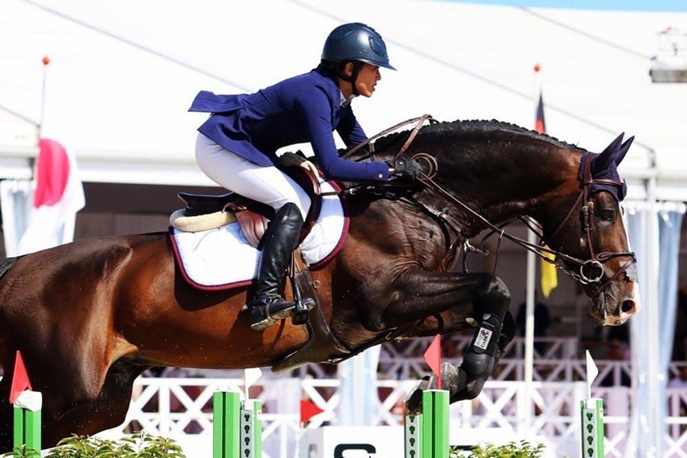 愛女征戰東奧馬術,陳泰銘為她鋪路24年!買馬匹建馬場再送出國:目標就只有一個