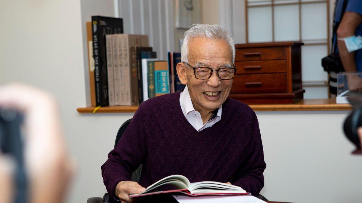 「我才不想回日本!」為何90歲諾貝爾奬得主「棄日留美」? 這四件事讓老教授對祖國沒留戀
