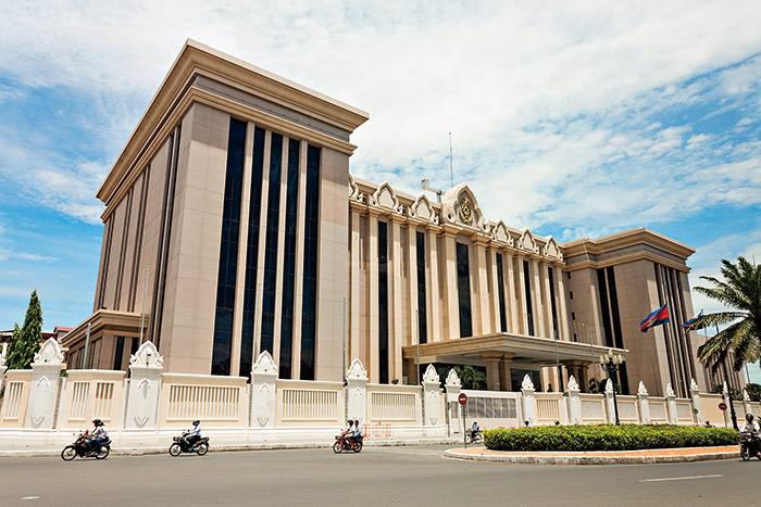 柬埔寨總理府大廈